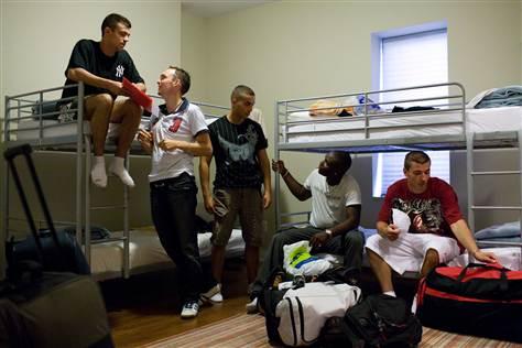 hostel roommates