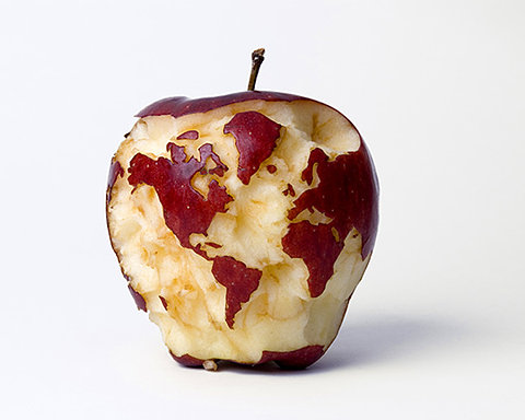 Apple of the world