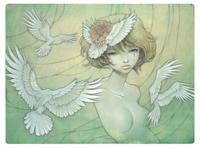 Bird Girl Audrey Kawasaki
