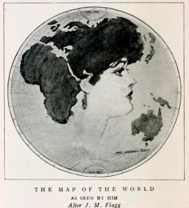 Woman World Map