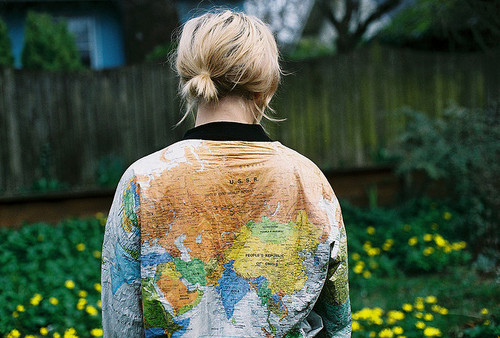World Map Jacket