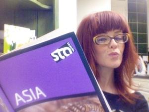 STA Travel Asia Girl Book