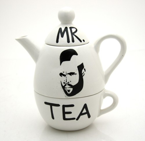 Mr T Tea Set A Team