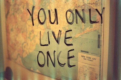 You Only Live Once Map