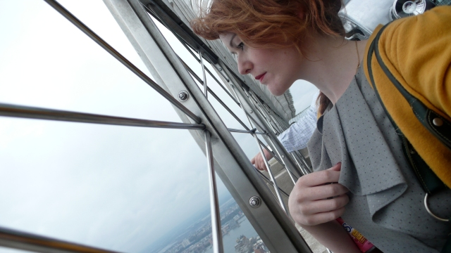 New York Empire State Building View Emma Rose Black Girl