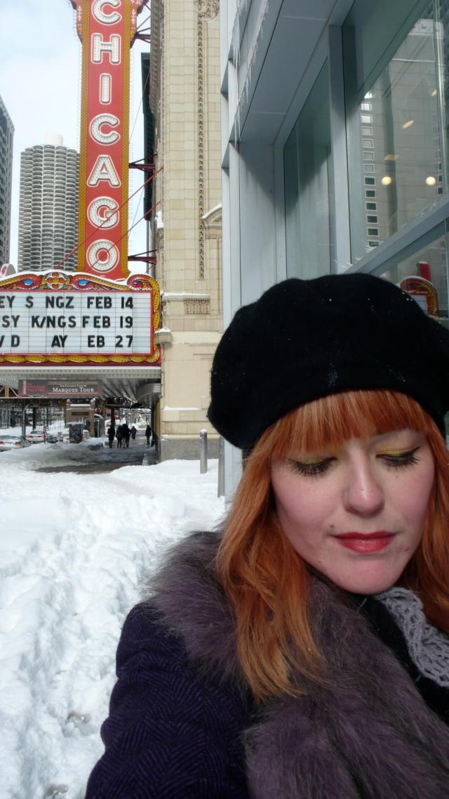 Chicago Theatre Winter Emma Rose Black Blizzard 2011