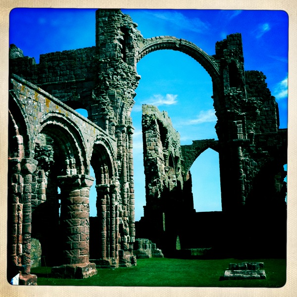 Holy Island Abbey Ruins