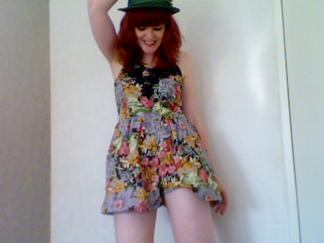 Primark Floral Playsuit Summer