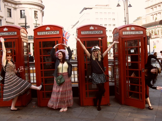 Love Girls London Red Phonebox