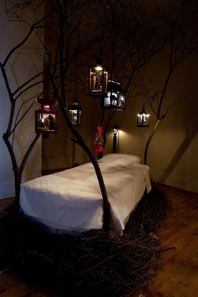 dreams above my bed