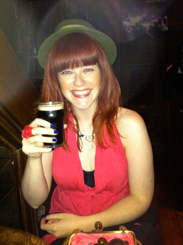 Guinness Half Pint Emma Rose Black
