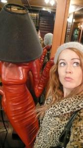 Strange Lamps Woman