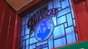 Captain Americas Dublin Stained Glass Window