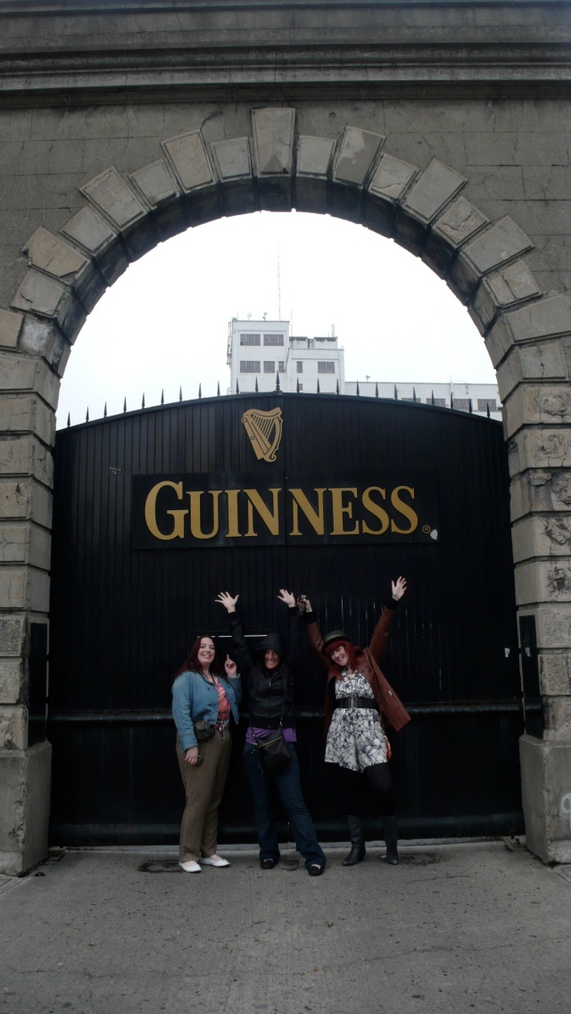 Guinness Factory Gates