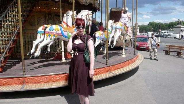 Parisian Carousel Stop Staring Fashion Vintage