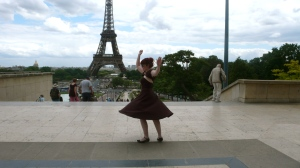 Paris Dress Spin