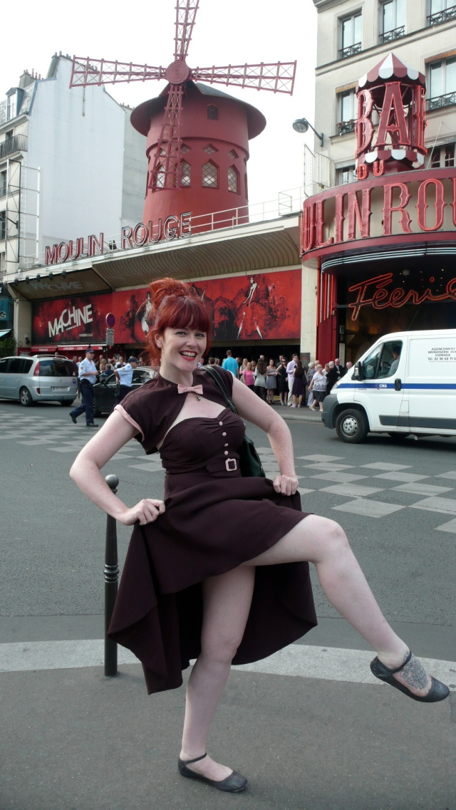 Moulin Rouge Paris Stop Staring Dress