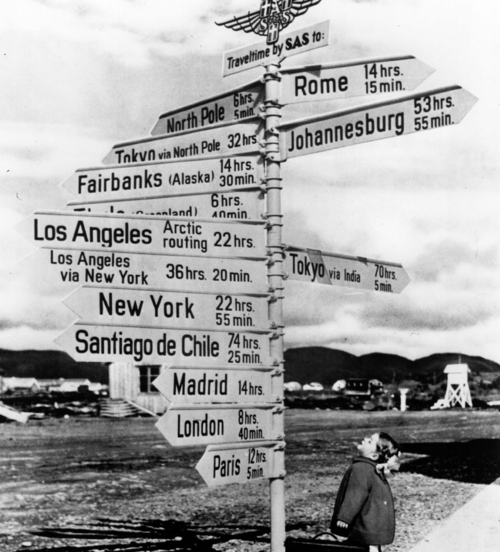 Signs Around The World Directions