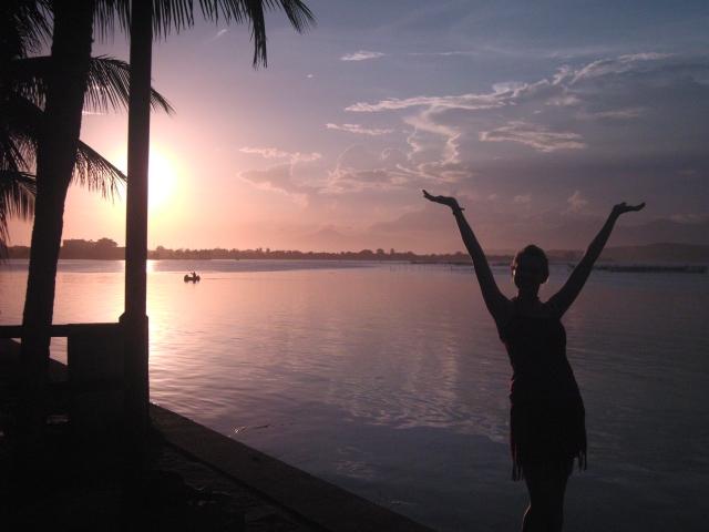 Sunset Saquarema, Brazil