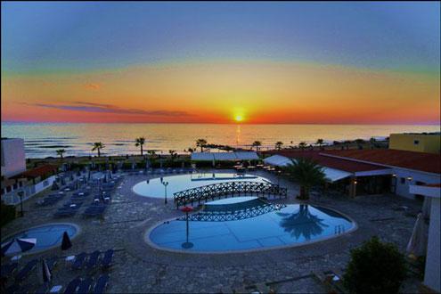 Kefelos beach tourist village, Paphos hotel