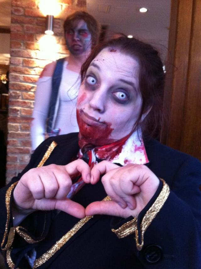Zombie Love Becca Carberry