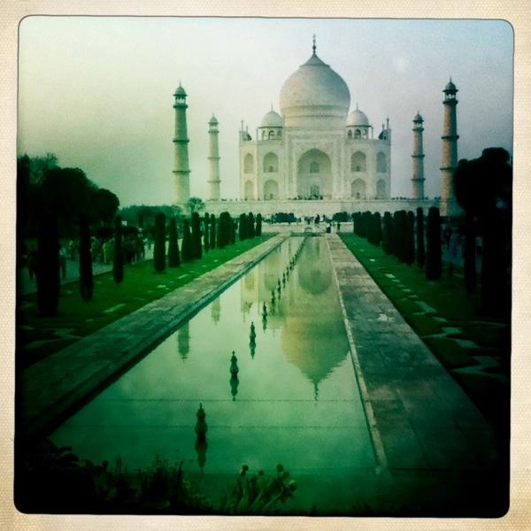 Taj Mahal Hipstamatic Vintage