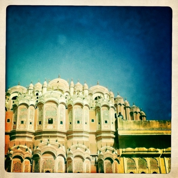 Hawa Mahal (Palace Of Winds) Jaipur, India Hipstamatic