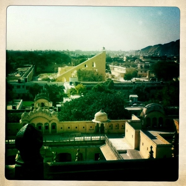View from top Hawa Mahal, Jaipur