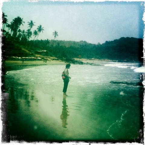 Vagator Beach, Goa, Hipstamatic