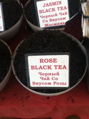 Rose Black tea in India