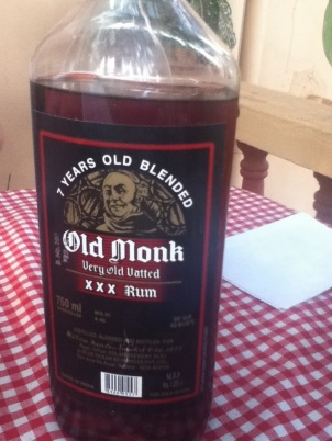 Old Monk Rum, Goa