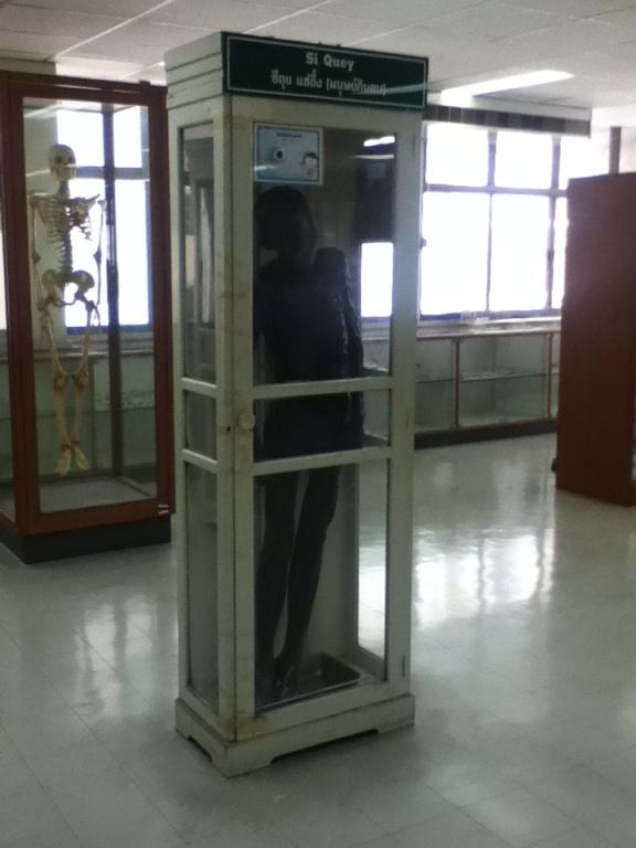 Si Quey body at Siriraj Medical Museum Bangkok