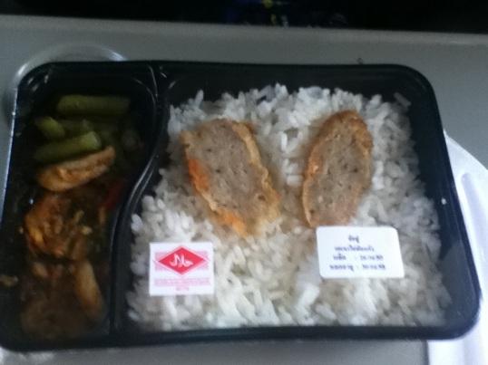 Train food on Thai Railways