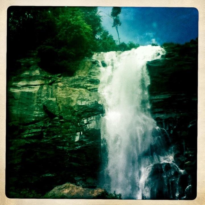 Wachirathan Waterfall Chiang Mai Hipstamatic