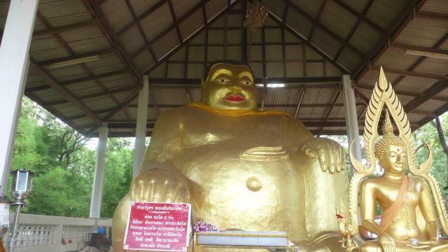 Fat Gold Buddha Kanchanaburi