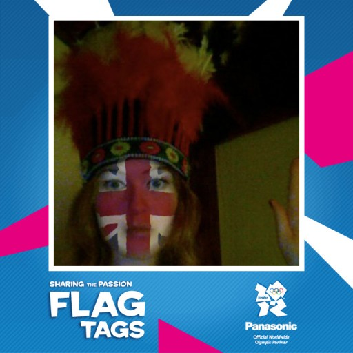 my_panasonic_flagtag feather headdress Brit flag