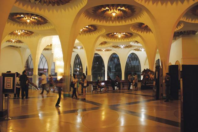 Scala cinema interior Bangkok by Philip Jablon