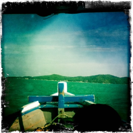 View from the ferry to Koh Samet