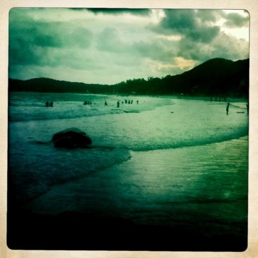 Koh Samet Beach Vintage Hipstamatic Colour