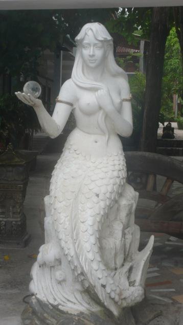 Mermaid Statue Koh Samet Beach
