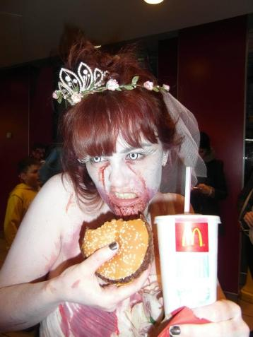World Zombie Day Zombies Eating McDonalds