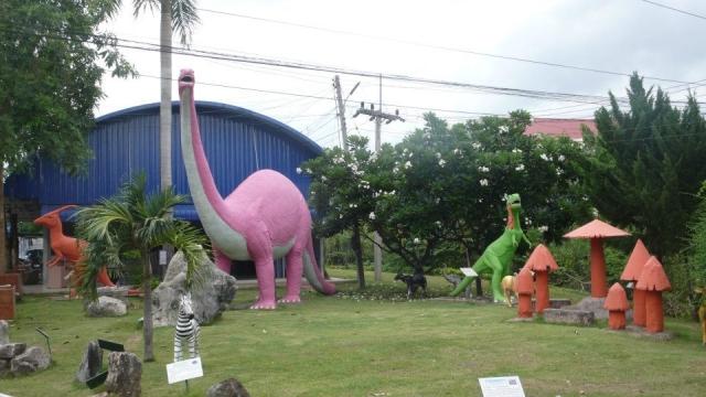 dinosaurs in thailand