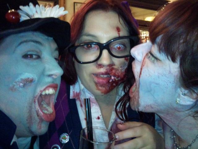Zombie girls world zombie day London