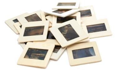 Photo slides vintage