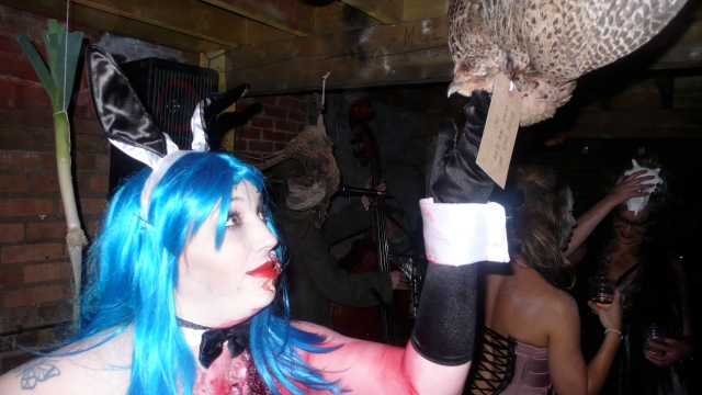 Dead hanging pheasants in onion cellar last tuesday society zombie playmate