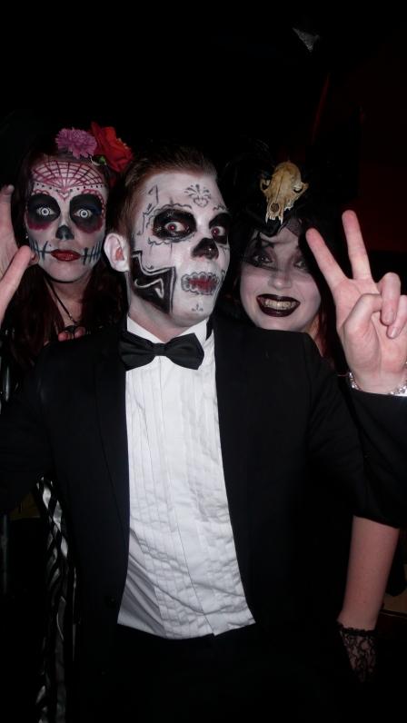 fun costumes at White Mischief Phantasmagoria Halloween Ball