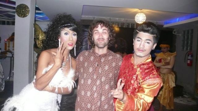 Thai Cabaret dancers Krabi