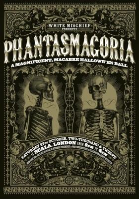 White Mischief Phantasmagoria halloween