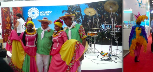 Colourful Outfits at WTM 2012
