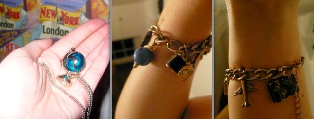 travel inspired jewellery
